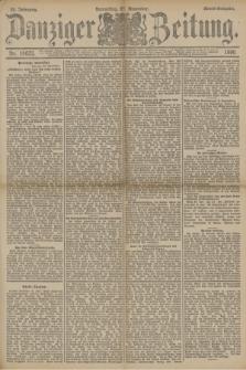 Danziger Zeitung. Jg.33, Nr. 18623 (27 November 1890) - Abend-Ausgabe + dod.
