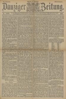 Danziger Zeitung. Jg.33, Nr. 18629 (1 Dezember 1890) - Abend-Ausgabe. + dod.