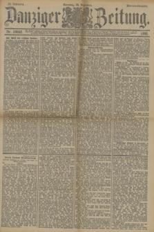 Danziger Zeitung. Jg.33, Nr. 18652 (14 Dezember 1890) - Morgen-Ausgabe. + dod.