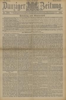 Danziger Zeitung. Jg.33, Nr. 18666 (23 Dezember 1890) - Morgen-Ausgabe.