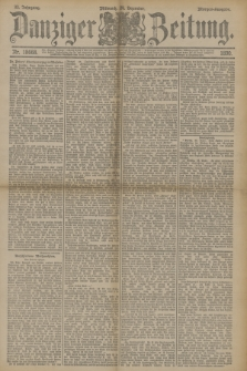 Danziger Zeitung. Jg.33, Nr. 18668 (24 Dezember 1890) - Morgen-Ausgabe.