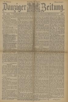 Danziger Zeitung. Jg.33, Nr. 18670 (25 Dezember 1890) - Morgen-Ausgabe.