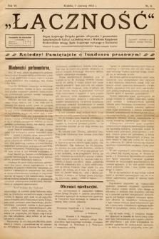 Łączność. 1913, nr6