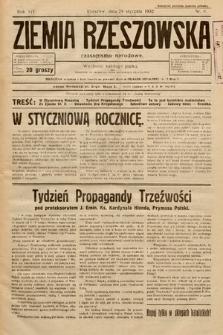 Ziemia Rzeszowska : czasopismo narodowe. 1932, nr5