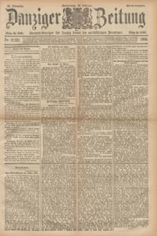 Danziger Zeitung : General-Anzeiger für Danzig sowie die nordöstlichen Provinzen. Jg.38, Nr. 21222 (28 Februar 1895) - Abend-Ausgabe. + dod.
