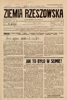 Ziemia Rzeszowska : czasopismo narodowe. 1932, nr47