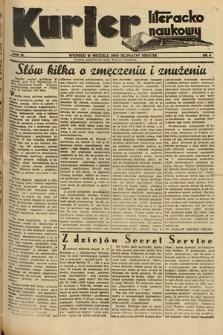 Kurjer Literacko-Naukowy. 1935, nr8