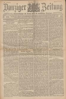 Danziger Zeitung : General-Anzeiger für Danzig sowie die nordöstlichen Provinzen. Jg.40, Nr. 22960 (4 Januar 1898) - Abend-Ausgabe. + dod.