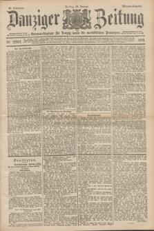 Danziger Zeitung : General-Anzeiger für Danzig sowie die nordöstlichen Provinzen. Jg.40, Nr. 22977 (14 Januar 1898) - Morgen-Ausgabe.