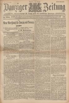 Danziger Zeitung : General-Anzeiger für Danzig sowie die nordöstlichen Provinzen. Jg.40, Nr. 22996 (25 Januar 1898) - Abend-Ausgabe. + dod.