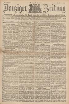 Danziger Zeitung : General-Anzeiger für Danzig sowie die nordöstlichen Provinzen. Jg.40, Nr. 23006 (31 Januar 1898) - Abend-Ausgabe. + dod.