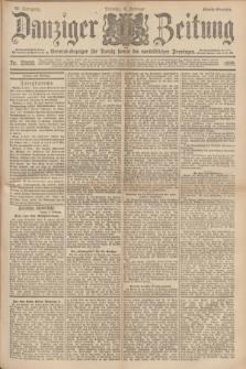 Danziger Zeitung : General-Anzeiger für Danzig sowie die nordöstlichen Provinzen. Jg.40, Nr. 23020 (8 Februar 1898) - Abend-Ausgabe. + dod.