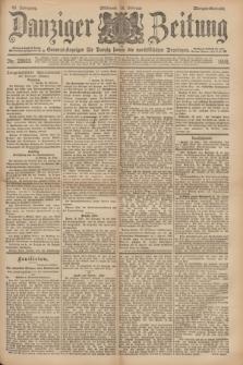 Danziger Zeitung : General-Anzeiger für Danzig sowie die nordöstlichen Provinzen. Jg.40, Nr. 23033 (16 Februar 1898) - Morgen-Ausgabe.
