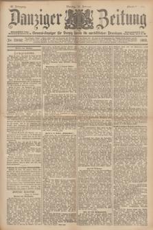 Danziger Zeitung : General-Anzeiger für Danzig sowie die nordöstlichen Provinzen. Jg.40, Nr. 23042 (21 Februar 1898) - Abend-Ausgabe. + dod.