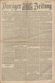 Danziger Zeitung : General-Anzeiger für Danzig sowie die nordöstlichen Provinzen. Jg.40, Nr. 23044 (22 Februar 1898) - Abend-Ausgabe. + dod.