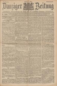 Danziger Zeitung : General-Anzeiger für Danzig sowie die nordöstlichen Provinzen. Jg.40, Nr. 23066 (7 März 1898) - Abend-Ausgabe. + dod.