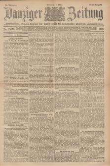 Danziger Zeitung : General-Anzeiger für Danzig sowie die nordöstlichen Provinzen. Jg.40, Nr. 23070 (9 März 1898) - Abend-Ausgabe. + dod.