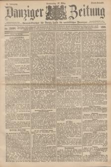 Danziger Zeitung : General-Anzeiger für Danzig sowie die nordöstlichen Provinzen. Jg.40, Nr. 23084 (17 März 1898) - Abend-Ausgabe. + dod.