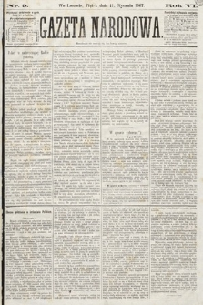 Gazeta Narodowa. 1867, nr9