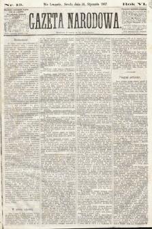 Gazeta Narodowa. 1867, nr13