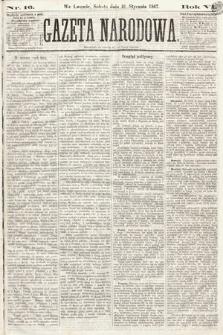 Gazeta Narodowa. 1867, nr16