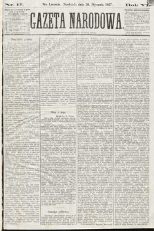 Gazeta Narodowa. 1867, nr17