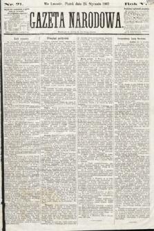 Gazeta Narodowa. 1867, nr21