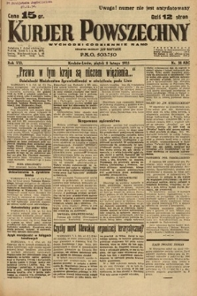Kurjer Powszechny. 1935, nr38