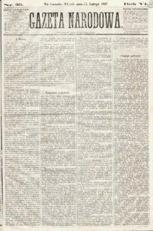 Gazeta Narodowa. 1867, nr35