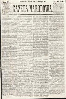 Gazeta Narodowa. 1867, nr38