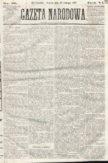 Gazeta Narodowa. 1867, nr39