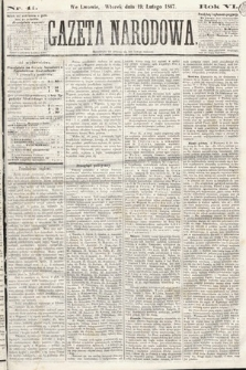 Gazeta Narodowa. 1867, nr41