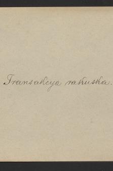 """""""Tytuły aktów XVI i XVII w. wypisane z Volumina legum"""", t. 1-2. T. 3, 1589-1609"""