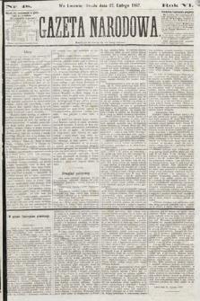 Gazeta Narodowa. 1867, nr48