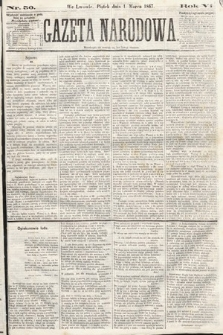Gazeta Narodowa. 1867, nr50