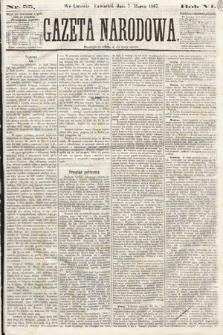 Gazeta Narodowa. 1867, nr55