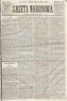 Gazeta Narodowa. 1867, nr58