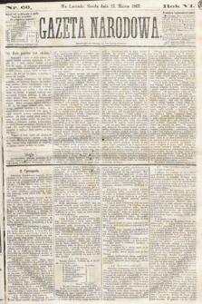 Gazeta Narodowa. 1867, nr60