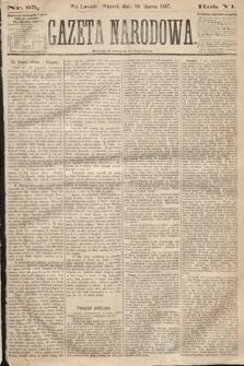 Gazeta Narodowa. 1867, nr65