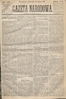Gazeta Narodowa. 1867, nr68
