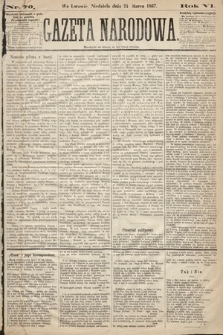 Gazeta Narodowa. 1867, nr70
