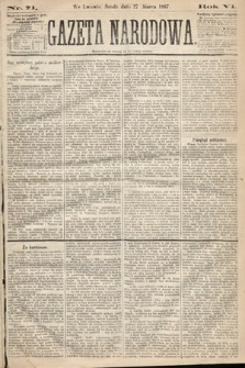 Gazeta Narodowa. 1867, nr71