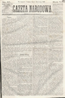 Gazeta Narodowa. 1867, nr80