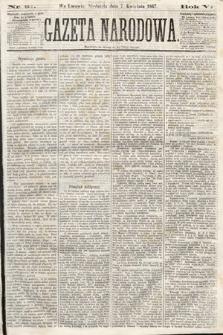 Gazeta Narodowa. 1867, nr81