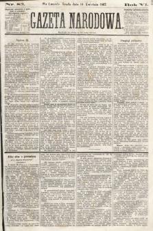 Gazeta Narodowa. 1867, nr83