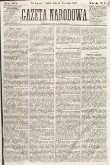 Gazeta Narodowa. 1867, nr85
