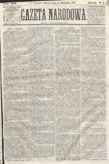 Gazeta Narodowa. 1867, nr86