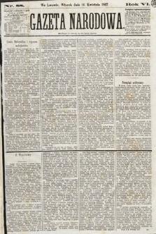 Gazeta Narodowa. 1867, nr88