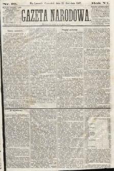 Gazeta Narodowa. 1867, nr95