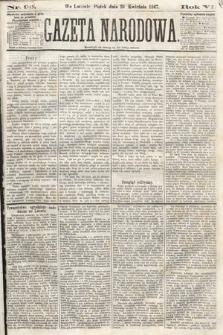 Gazeta Narodowa. 1867, nr96